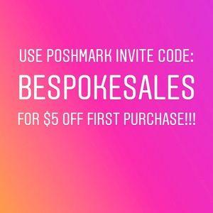 Poshmark Coupon Code $10 OFF COUPON: BESPOKESALES